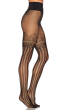 Colette Faux Thigh High – 黑色