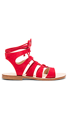 Recommone Sandals in Red