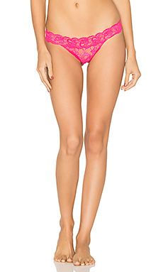 Never Say Never Brazilian Minkini Underwear in Hot Pink