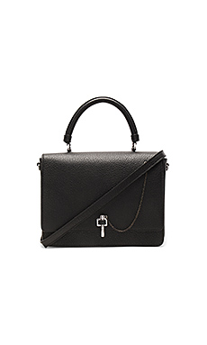 Malher Shoulder Bag en Noir