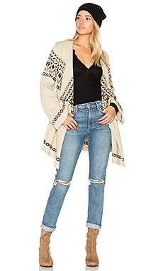 Drape Front Open Cardigan – Vintage Sweater