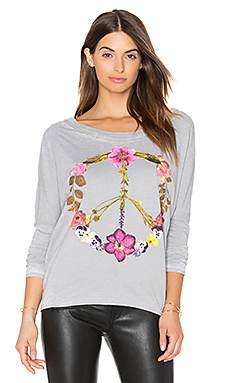 T-SHIRT WILD FLOWER PEACE