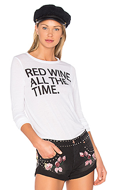 T-SHIRTS MANCHES LONGUES RED WINE TIME