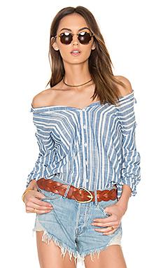 Romy Shirt in Blue Stripe
