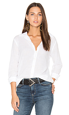 Japanese Cotton Shirt en Blanc