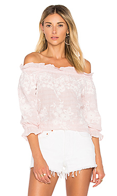 Renee Blouse en Blush