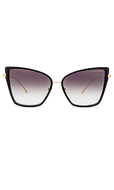 Sunbird Sunglasses in Black & 18K Gold