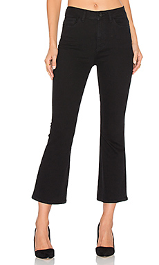 JEAN FLARE CROPPED JACKIE TRIMTONE