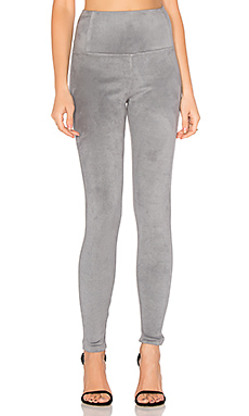 Elliott Micro Suede Legging in Grey