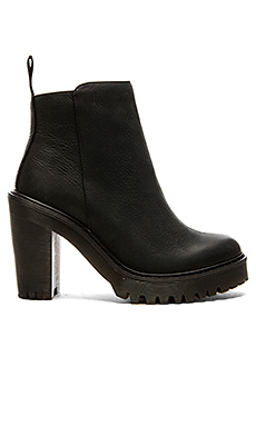 Magdalena Ankle Zip Boot – 黑色