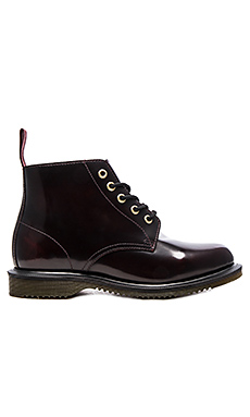 Emmeline 5-Eye Boot – 樱桃红
