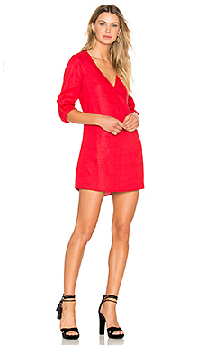 Bethany Shift Dress in Deep Cherry