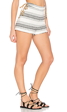 Holly Short en Rayé Noir & Blanc
