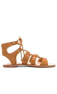 Jasmyn Sandal in Dark Saddle
