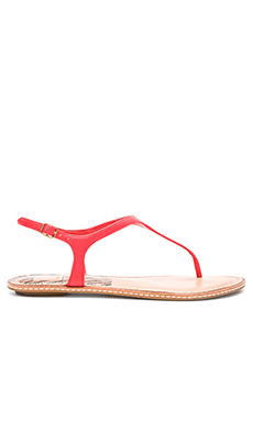 Kimberly Sandal en Rouge