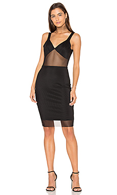 V Back Cami Dress en Noir