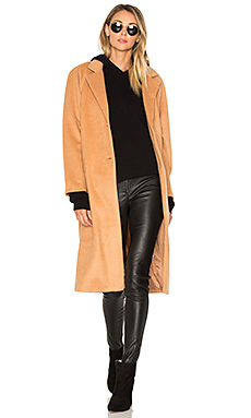 Camile Coat in Camel
