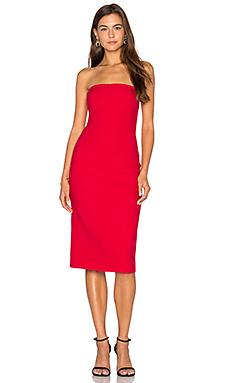 Margo Dress in Cardinal