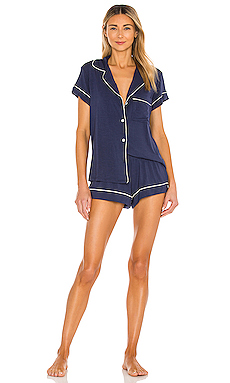 Gisele Pj's in Navy/Ivory