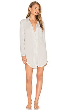 Stargazing Sleepshirt in Lunar Grey