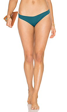So Solid Annia Bikini Bottom en Palma Green