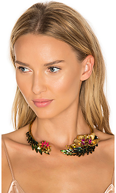 Flower Choker en Tropical