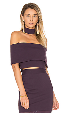 Allure Top en Prune