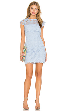 ROBE COURTE LACE SHIFT