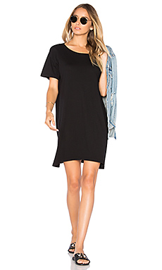Boy Tee Dress en Noir