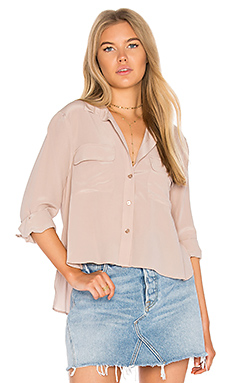 CHEMISE BOUTONNÉE CROPPED
