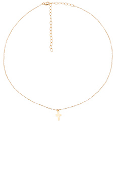 Cross Necklace – 14K 金