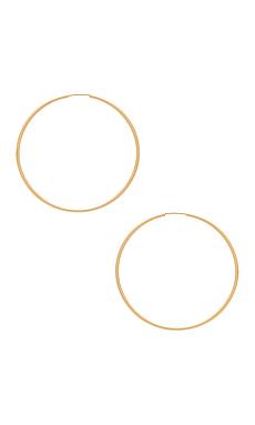 Hoop II Earrings in Gold