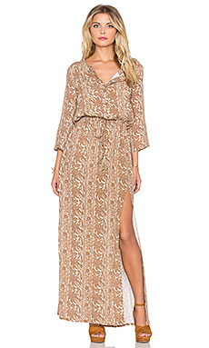 ROBE MAXI SUNSET MEADOW