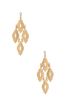 Hanging Drop Earring en Or