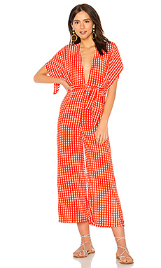 Cedric Jumpsuit in Burnt Orange. - size XS (also in M) Faithfull The Brand Cheap 100% Original Buy Cheap Outlet Locations Official For Sale xw58Ef