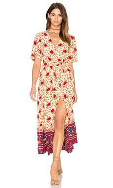 Adela Dress in Rose Garden Floral