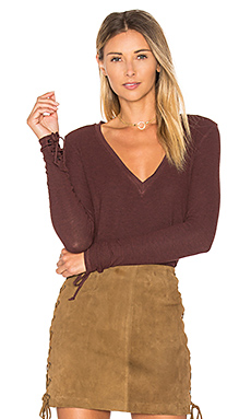 Sifa Top en Heather Fig