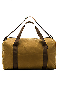 Medium Field Duffle en Dark Tan & Brown
