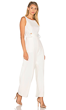 The Moment Jumpsuit in White