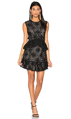 Chantilly Dress en Noir