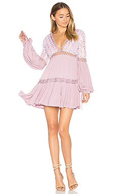 Dusk Till Dawn Mini Dress en Mauve