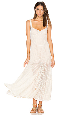 Love Story Slip Dress in Ivory