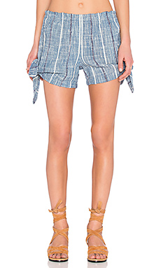 Blue Bonnet Shorts in Denim Combo