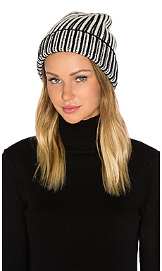 Berkley Two Tone Beanie en Black Combo