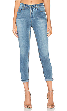 JEAN CROPPED GUMMY ROLLER