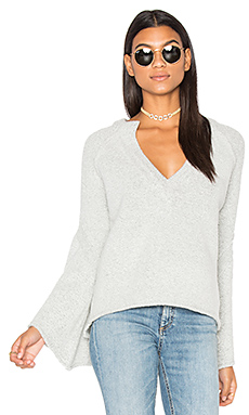 Lovely Lines Pullover in Ivory