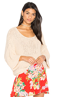Halo Pullover in Sand