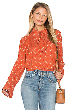 Kennedy Blouse en Terracotta