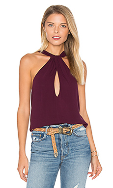 Twist & Shout Tank in Wine