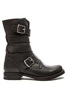 Veronica Tanker Boot en Noir